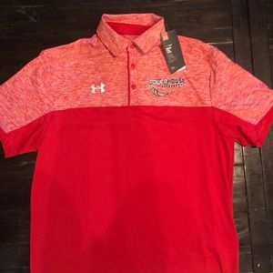 NWT Mens Under Armour Polo - size medium
